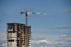 В России снизились объемы строительства жилья